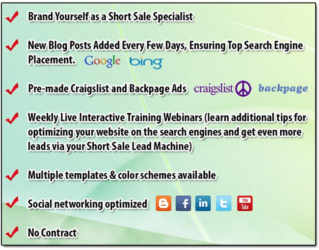 How To Generate Thousands Of Short Sale Leads